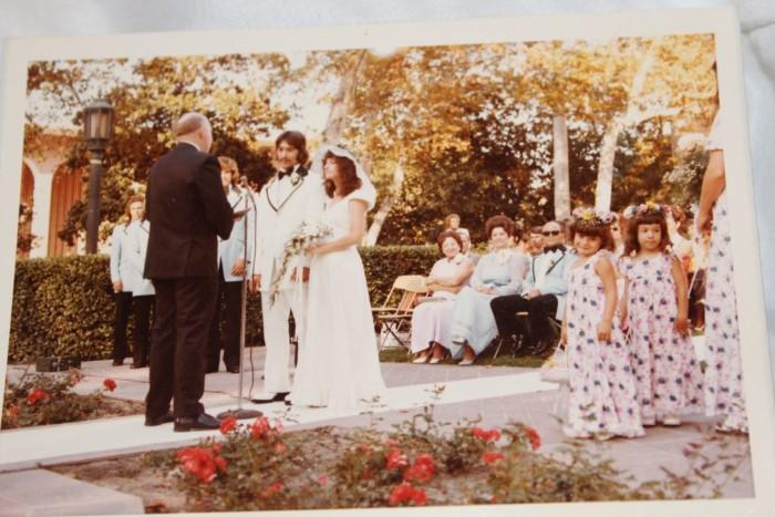 1974 wedding USC