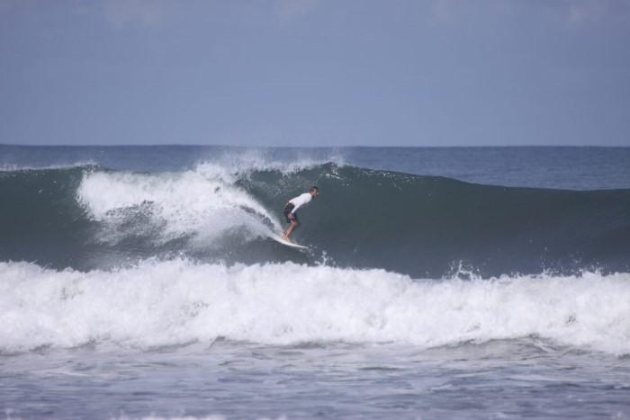 Chuck surfing