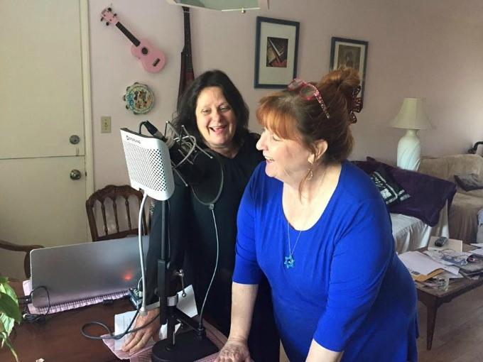Rebecca-and-Sharone-Podcasting