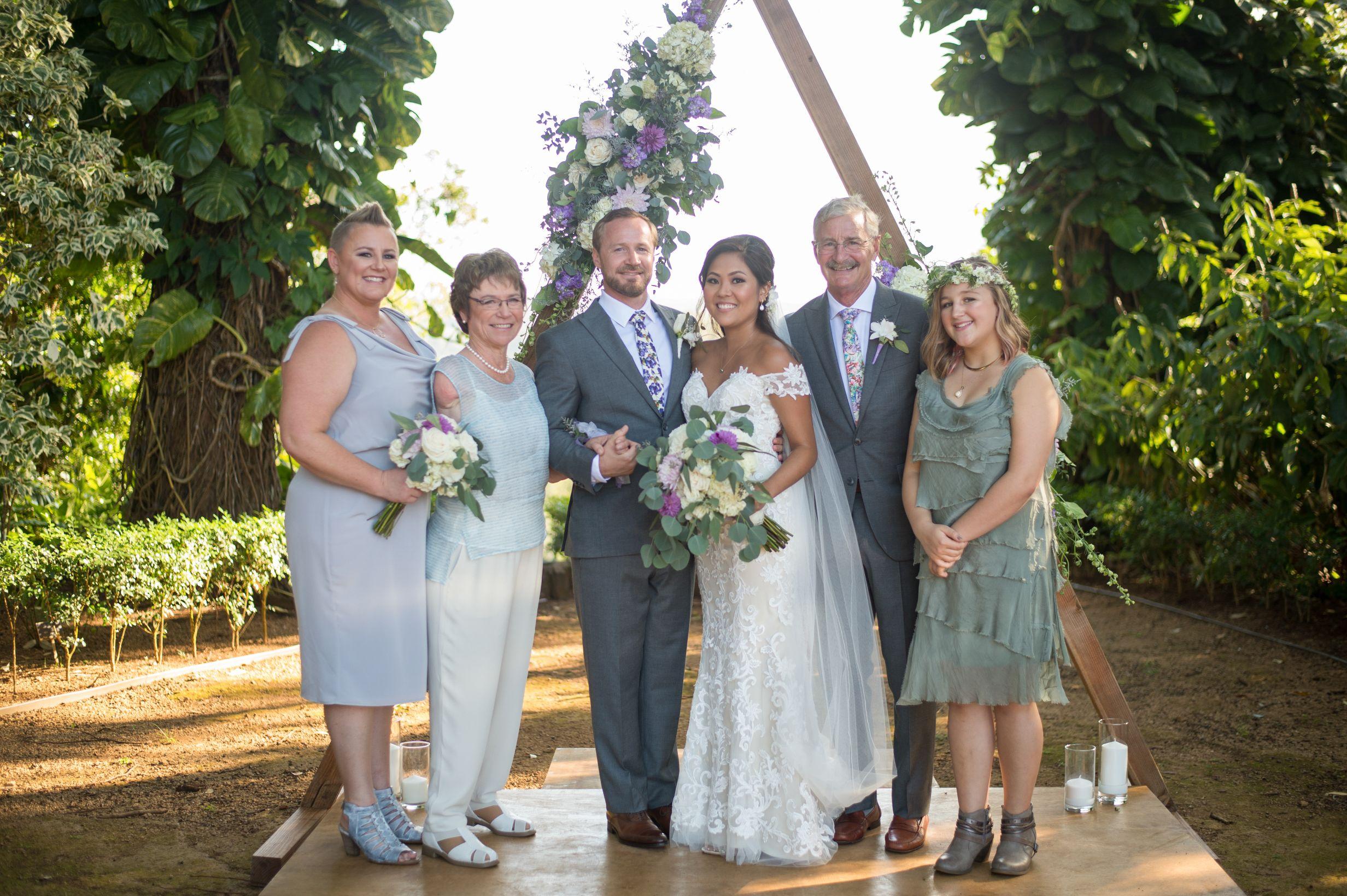 October 26, 2019: Linda Olson's son wedding